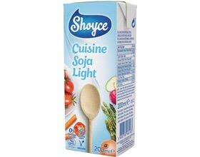 Creme vegetal de soja Light disponível em qualquer hipermercado