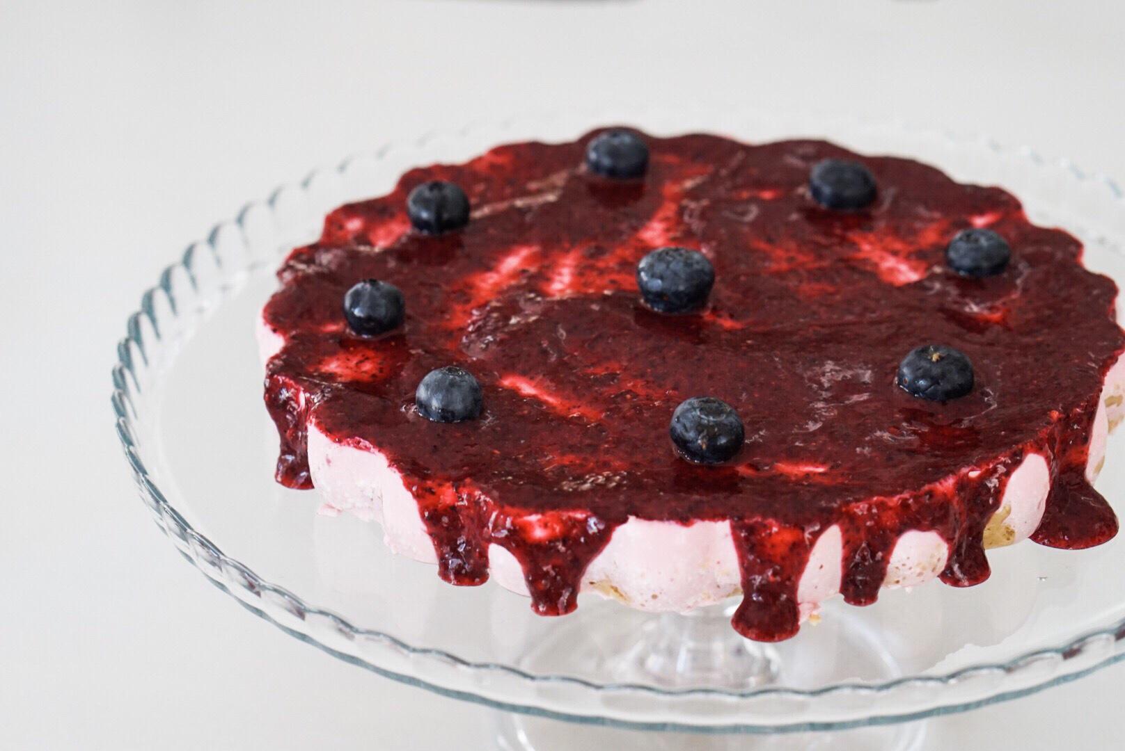 Vejam também a receita do meu Cheesecake de Frutos Vermelhos